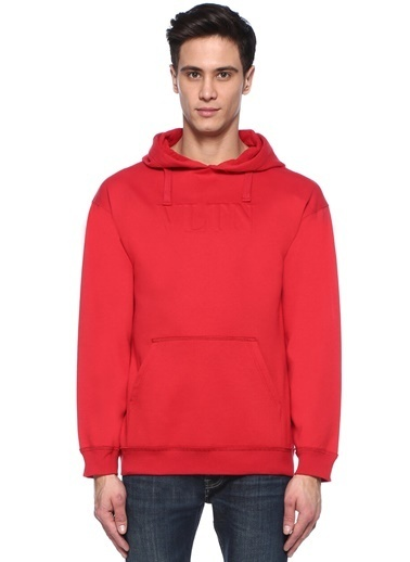 Valentino Sweatshirt Kırmızı